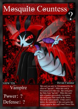 NecroMasters - NMW - 026 - Mosquito Countess by PlayboyVampire
