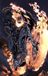 The Ghost Rider by zaratus
