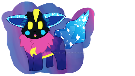 Cosmic Eevee *ON REDBUBBLE* by Kaymilton