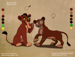Mwezi X Rehema - Lion cubs for Zahara24 by Nala15