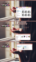 #Team || Tema Para Iconpackager by CustomizeYourLife