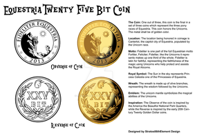 Equestria Twenty Five Bit Coin by SouthParkTaoist