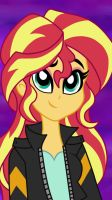 Coloured Sunset Shimmer Sketch 2 by Bloom-Tazza93