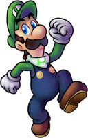 Luigi (Princess Daisy Scribble Scramble) by MisterYoshiandwatch