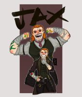 Jax Wolfgang (After Hogwarts) by The-Red-Right-Hand