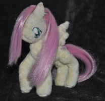 Fluttershy plush by QueenAnneka