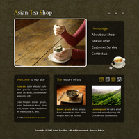 Tea Shop Template by apokalypseAT