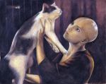 Dren and the cat, again by JohannesVIII