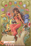 TULA of the PIRATES OF DARK WATER (color) by Arzeno