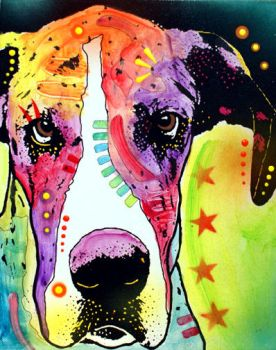 GREAT DANE by deanrussoart