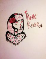 Pink Rose~ by PurpleFunky