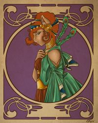 Greek Gods: Hera Colored by Candy-Janney