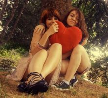 my friend and me... by MaYaXP