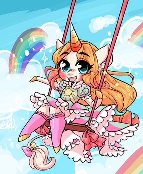 Fill the Sky with Sweet! by bunnyb133