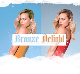 Bronze Delight Coloring Psd by Gorgeousmali