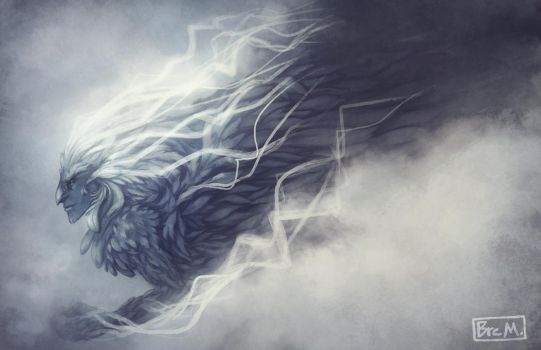 Manwe, Lord of the Breath of Arda by 89ravenclaw