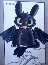 Toothless by Mioumioune