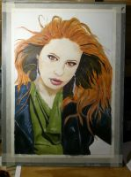 Doctor Who - Amy Pond sketch by punkgerbil