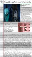 Alpha+Omega 4:Legend of Saw Tooth Cave Notepage by Duckyworth