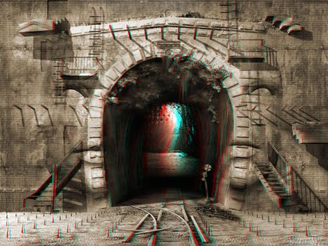 This Way Out 3-D conversion by MVRamsey