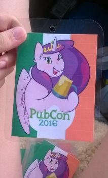 PubCon 2016 badge by SquishyCuddle