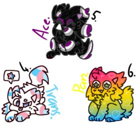 Kitty dog pride adopts (pg. 2/3) by Ruby-Tuesday25