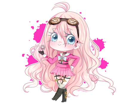 Miu Iruma: Ultimate Inventor by MissElysium