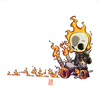 Ghost Rider by ilustrajean