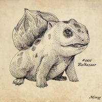 Bulbasaur by Manguinha