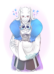 Undertale: oh tori you're so strong by Yore-Donatsu