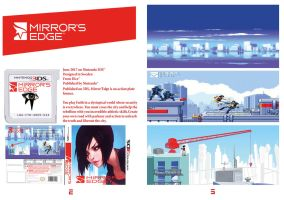 Mirror'Edge 3DS Publicidad Inside by LOrdalie