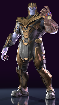 Thanos by Yare-Yare-Dong