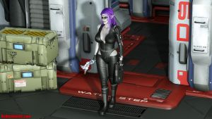 RLA Sci-Fi Elf Preview by redleatherart