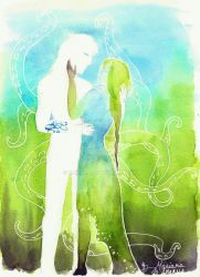 Silhouette -green by K-naille