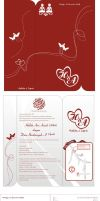 hali wedding card invitation by danibravo15
