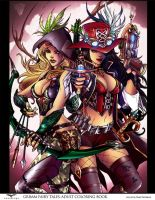 Grimm Fairy Tales by puzzlepalette
