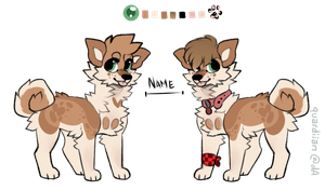 bandie shibe point auction by borgiies