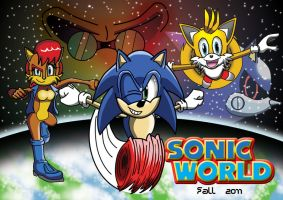 Sonic World Our Heroes Poster by Big-Al-Son86