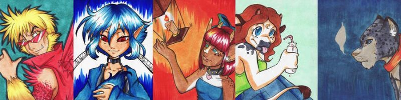 ACEO's Batch by ulo-ah