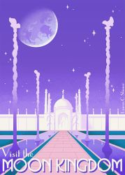 Visit the Moon Kingdom by laurencskinner