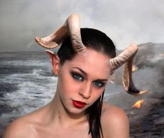 Caprica capricorn by faesstock by FueledbypartII