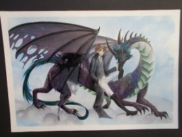 Dragon and king Iro Cho by LucyMeryChan