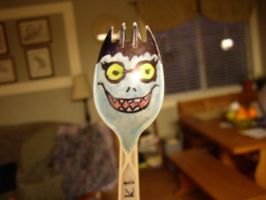 DN: The Ryuk spork by Nyoccora2071