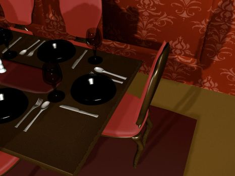 Table Render 4 by Evolved-Monkey