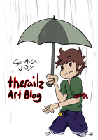 Look at that rain by TheRailz-Art