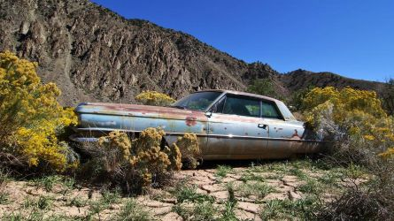 1963 Cadillac Coupe De Mud by finhead4ever