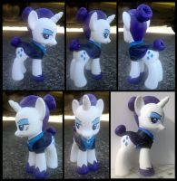 Nightmare Maid Rarity Custom by AlicornParty