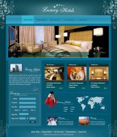Hotel Web interface by Mood-man