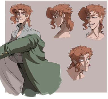 Kakyoin - Sketches 01 by YAMsgarden