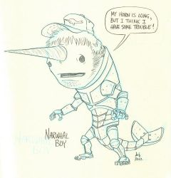30 - Narwhal Boy by DBed